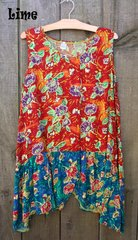 Tropical Tank Tunic SIZE 1