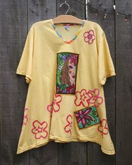 Garden Party Yellow Tee