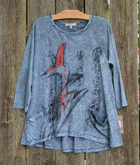 Jess & Jane Mineral Wash Slub Tunic