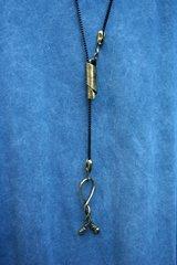 Volare Bronze Lariat Necklace