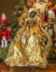 Gold Angel Tree Topper - SOLD OUT