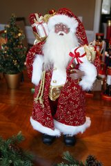 Traditional Santa with Long Coat