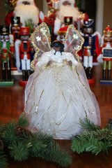 Ivory Angel Tree Topper - SOLD OUT