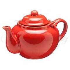 VERMILLION 3 CUP DOMINION TEAPOT W/ INFUSER