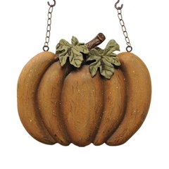 RESIN MUSTARD PUMPKIN