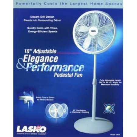 Lasko 18 Quot Performance Fan White 1821 Shams Appliances