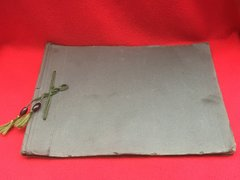 Lovely original war time German Kriegsmarine photograph album with 29 photos very nice condition