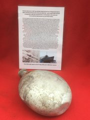 German waterbottle maker marked dated 1940 recovered from U-Boat U534 which was sunk on the 5th May 1945