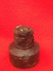 German incendiary bomb front plug nice condition recovered from dump site in Essex dropped on London from the Blitz in 1940-1941