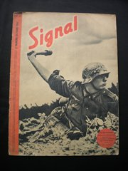 Original German Signal magazine French language issue number 20 dated October 1941 complete nice condition