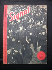 Original German Signal magazine French language issue number 9 dated May 1943 complete nice condition