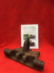 Very rare track link from Japanese Type 95 Ha Go tank recovered from a Tank still abounded on the Island of Guadlcanal from the 1942-1943 battlefield