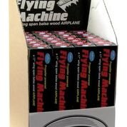 Guillow's #75 Flying Machine, 24 Piece Display Kit  GUI-75DIS