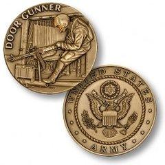 U. S. Army Door Gunner Challenge Coin