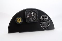 B-17 Flying Fortress Parking Brake, Clock, Data Plate Display  PI-0118