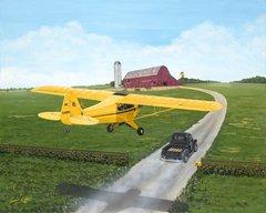 Sam Lyons Print, Racing for Home  LS-1071