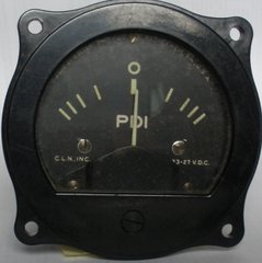 WWII Bombsight Pilot Director Indicator (PDI) Gauge INS-0107