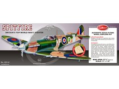 Guillow's Supermarine Spitfire Balsa Wood Model Kit  GUI-403LC