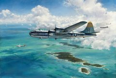 "John Young Print, B-29 Superfortress ""Enduring Eddie""  YNG-06"