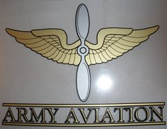 Army Aviation Decal  DEC-0115