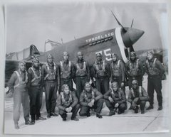 Group of Six WWII Fighter Photos  GRP-0109