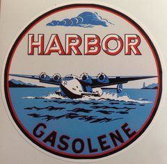 Harbor Gasoline Peel & Stick Vinyl Decal  DEC-0153