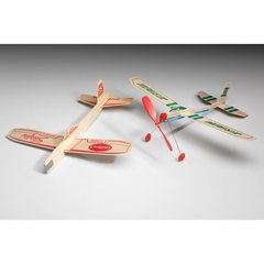 Squadron of Twelve Guillow's Balsa Wood Airplanes  GRP-0126