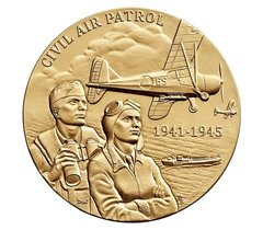 "Civil Air Patrol Bronze Medal 1 1/2""  USM-0105"