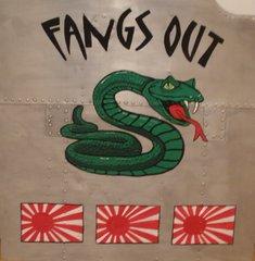 "Nose Art- Snake ""Fangs Out""  NAP-0116"