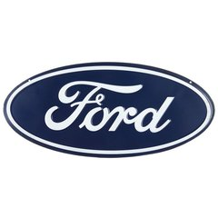 Ford (Tri-Motor) Metal Sign Blue Oval  ORB-0101