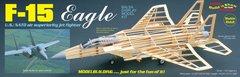 Guillow's McDonnell Douglas F-15 Eagle Balsa Wood Display Model GUI-1401