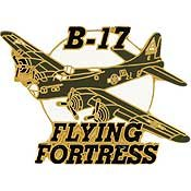 Boeing B-17 Flying Fortress Enamel Pin  JEW-0101