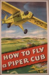 """How To Fly A Piper Cub"" Booklet"