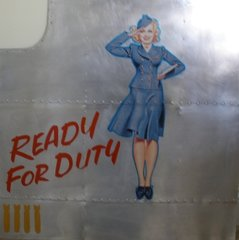 """Nose Art Panel- """"Ready For Duty""""  NAP-0103"""