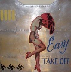 "Nose Art Panel- ""Easy Take Off""  NAP-0111"