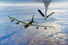 "John Young Print, B-52 Stratofortress ""Fill Up For The Cadillac""  YNG-07"