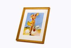 """Irene Patten """"Self Conscious"""" Framed Print  ART-0101"""