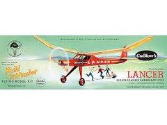 Guillow's Lancer Balsa Wood flying Model Kit  GUI-604