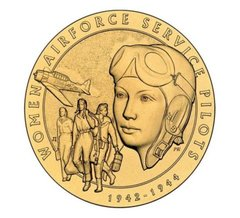 Women Airforce Service Pilots Medal by U.S. Mint  USM-0103