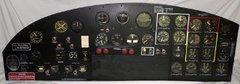 Boeing B-17 Flying Fortress Instrument Panel  INS-0102