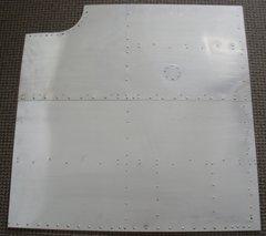 Undecorated Aluminum Nose Art Panel  NAP-0101