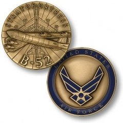 Boeing B-52 Superfortress U. S. Air Force Challenge Coin  NTM-48919