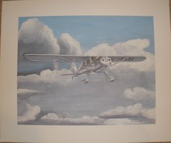 Cessna 140 Limited Edition Print by E. Rothering  ART-0105