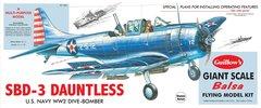 Guillow's Douglass SBD-3 Dauntless Balsa Wood Flying Model Airplane GUI-1003