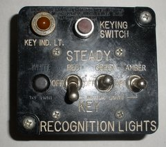 IFF Recognition Lights Box (Friend or Foe)  INS-0116