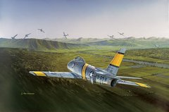 """Ross Buckland Print, F-86 Sabre """"Shooter's Odds"""""""