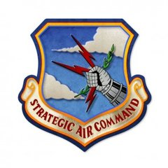 Strategic Air Command Custom Metal Sign  SIG-0145