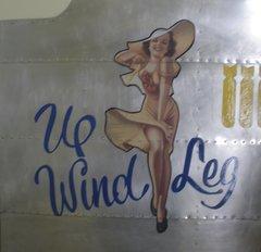 "Nose Art Panel- ""Upwind Leg""  NAP-0105"