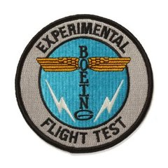 Boeing Test Flight Embroidered Patch BOE-0119