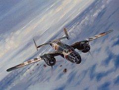 Robert Bailey Print, B-25 Mitchell